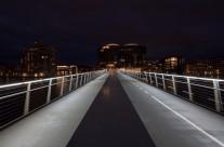 Bryggebroen – i den blå time