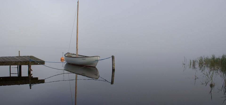 Morgenspejling i tågen